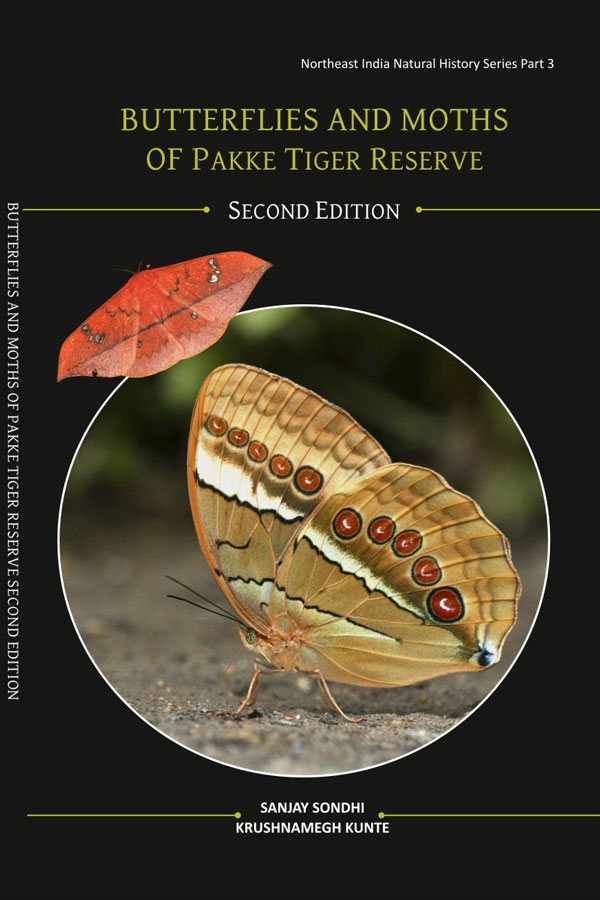 Sondhi Kunte Butterflies and Moths of Pakke 2018 Cover